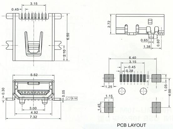 mini usb series    connectors    products    bentex