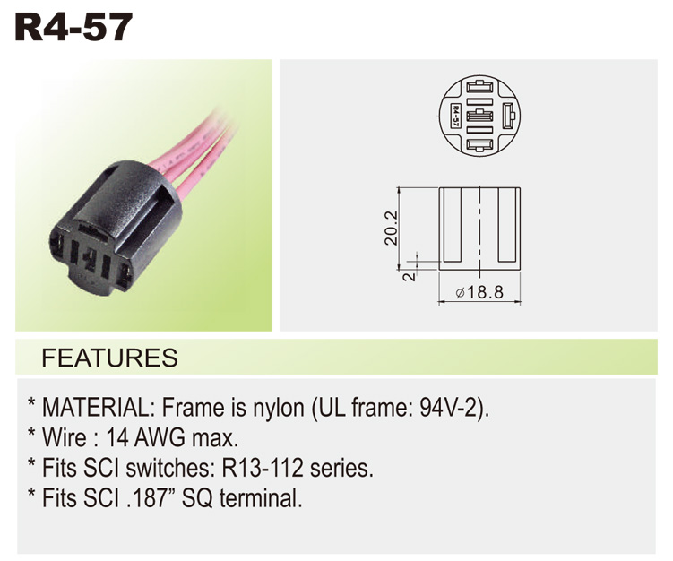 r4 57 r4) wire connector car switches bentex r13 112 switch wiring diagram at edmiracle.co