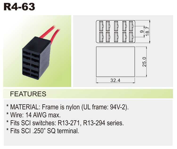 r4 63 r4) wire connector car switches bentex r13 112 switch wiring diagram at highcare.asia